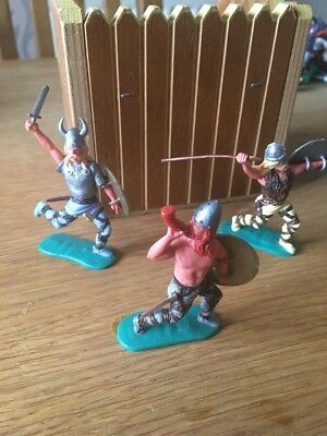 TIMPO SWOPPET VIKINGS, x3, LATE 1970s