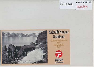 LH13249 Greenland old photography fine booklet MNH face 55,5 DKK