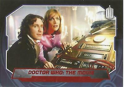 """Topps Doctor Who 2015 - No. 192 """"Dr Who The Movie"""" Red Parallel Card #38/50"""