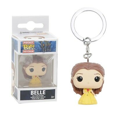 Funko Pocket Pop Keychain: Beauty and the Beast - Belle Vinyl Keychain No. 12396