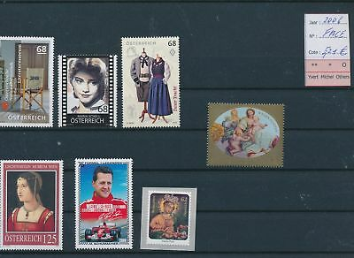 LH13165 Austria 2006 nice lot of stamps MNH face value 5,21 EUR