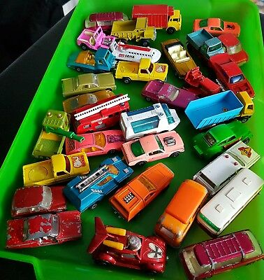 joblot vintage matchbox cars