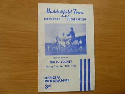 26Th December 1956 Huddersfield Town V Notts County League Division 2