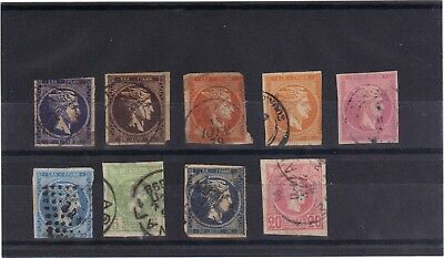 Greece 1861-86 - Early Selection Used
