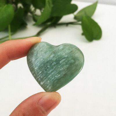 19g AAA+++ Natural beauty of the amazonite heart to heal