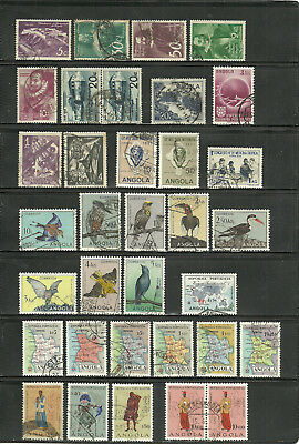 Portugal - Kolonien, Angola, o/used Sammlung/Collection 1948 - 1974, 4 Scans !