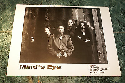 Mind's Eye 8X10 Glossy Official Promo Picture 1998  Rare Htf Oop Mint