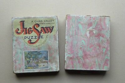 Chad Valley Vintage Wood Jigsaw - The Flower Market