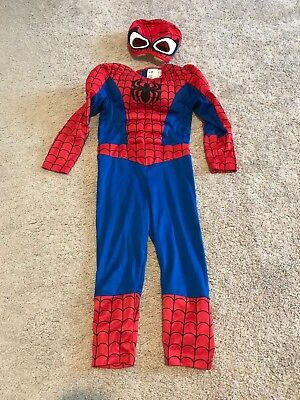 H&M Marvel Kids Size 2-4 Y Unisex Spiderman One Piece Muscle Costume Halloween