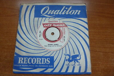 Fatty George and His Orchestra - Mambo Jambo 1961 UK 45 QUALITON POPCORN INSTRO