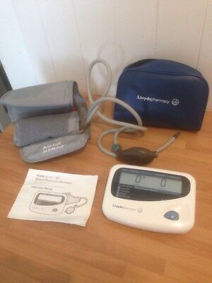 Digital Blood Pressure Monitor By Lloyds Pharmacy Electronic Sphygmomanometer
