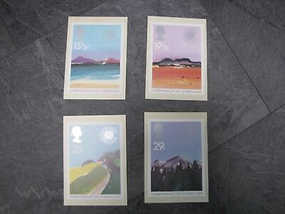 Picture Postcard stamps x4PHQ66