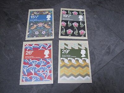 Picture Postcard stamps x4 PHQ61