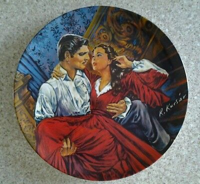 7 Knowles collector's plates Gone With the Wind COA