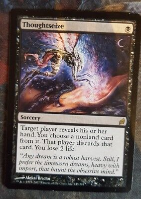 Mtg thougtseize  x 1 great condition