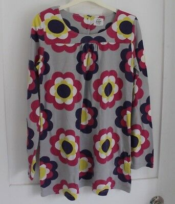 MINI BODEN Girls Large FlowerTunic Top - Age 11-12 Years
