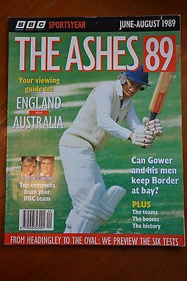 The Ashes 1989 magazine