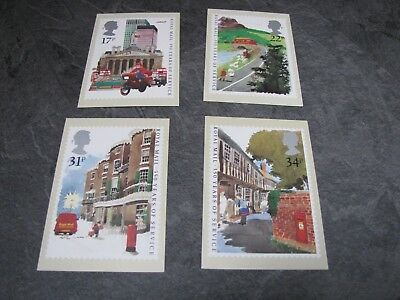 Picture postcard stamps x4 PHQ85