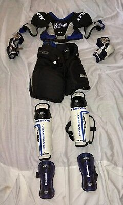 Youth Ice Hockey Equipment/Gear: Pants; Shoulder, Elbow, Shin, Ankle Guards