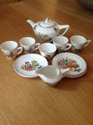 STAFFS TEASET CO LTD 'Childs Part Teaset' Good Vintage Condition