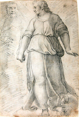 Old master drawing, Roman school (17th or 18th century)