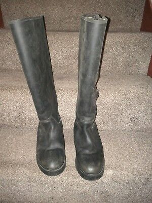 black yard boots size 6 muckers riding boots