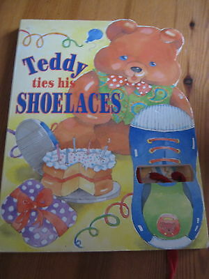Teddy Ties His Shoelaces Hardback Book