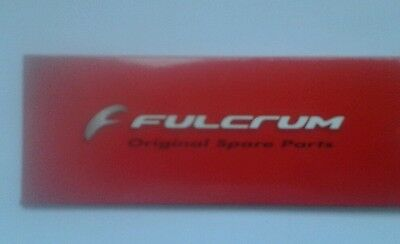 Fulcrum Racing 7, 5, Quattro, 3, 1, Zero spokes 2014, 2012, 2010, 2005 momag