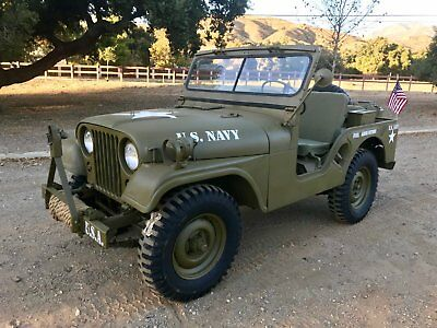 1953 M38A1 Mlitary Jeep Willys