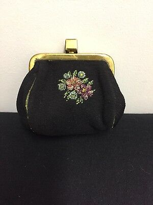 Pretty Little Petit Point Coin Purse
