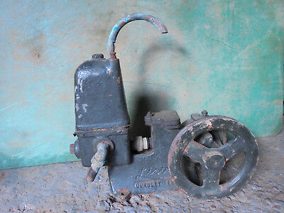 Vintage Lister & co Dursley England water sludge pump for stationary engine