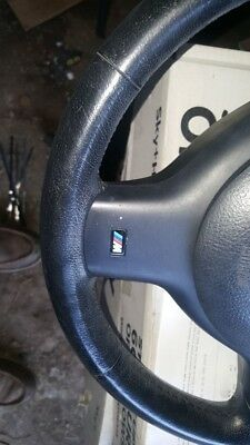 bmw e46 m.sport leather chunky sterring wheel