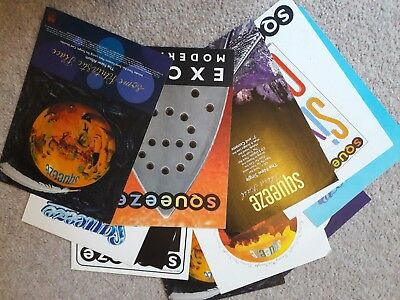 12 Squeeze flyers lot