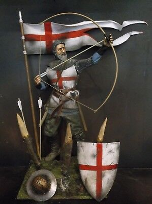 "12"" Custom English Longbowman, Medieval Knight At Agincourt 1/6 Figure Ignite"