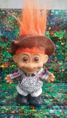 RUSS TROLL FARMER RANCHER 1980'S VINTAGE EXCELLENT CONDITION ginger nut