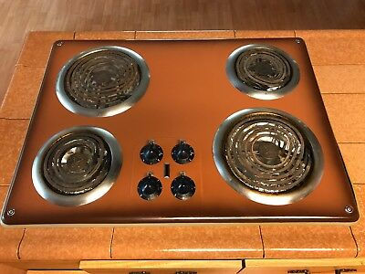 1950s vintage working Thermador appliances, electric stove top and oven