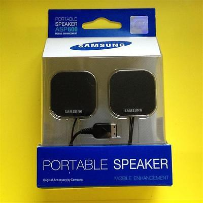[JOB LOT - 28 pc] Original Samsung ASP600 Portable Speakers S20 Pin Mobile Phone
