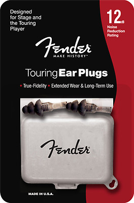 Fender Touring Ear Plugs - 12db Noise Reduction Rating