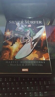 Marvel Masterworks The Silver Surfer Vol. 2 trade paperback used