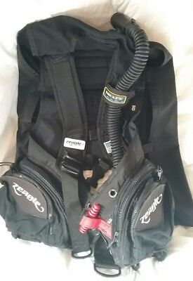 Buoyancy Compensator Zeagle Escape BC BCD - MEDIUM -- Scuba Diving