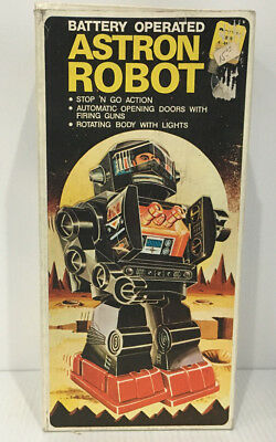 1960's Astron Robot Battery Operated pre owned