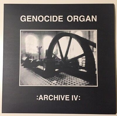 "Genocide Organ - Archive IV 10"" Vinyl boyd rice spk throbbing gristle"