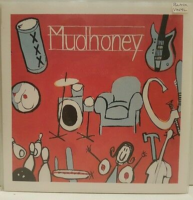 "Mudhoney Let It Slide 7"" Sub Pop Black Vinyl Nm"
