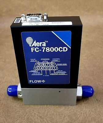 Aera FC-7800CD Mass Flow Controller Gas SiH4 50 SCCM New [JW]