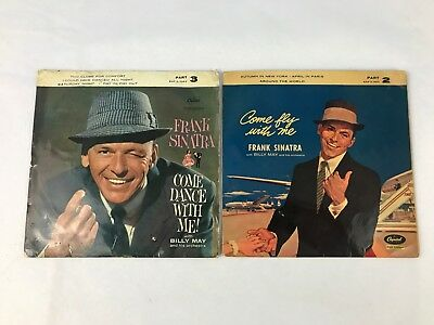 """Frank Sinatra – Come Fly With Me & Come Dance With Me! – LP Vinyl Record 7"""""""