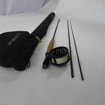 LOOP Incite Fly Rod kit 9' 6 wt fly rod, reel and line good condition used right