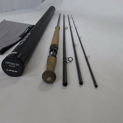 "LOOP Cross SX 13' 2"" 8 weight fly rod demo rod excellent condition Spey Rod"