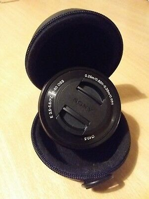 SONY SEL-P1650 16-50mm f/3.5-5.6 E PZ OSS Power Zoom Lens BLACK UK SELP1650