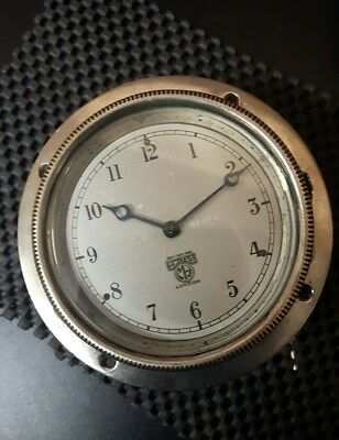 vintage smiths classic car clock in great working condition