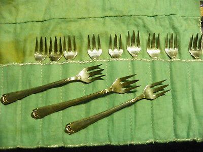 "George II Plain by Birks Sterling Silver  5 5/8"" SPECIALTY FORK  12 AVAIL."